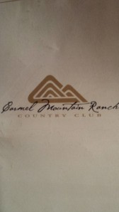 Carmel Mountain Ranch Country Club 6,252 Par 72 Slope 128